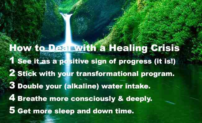 healing crisis tips compress