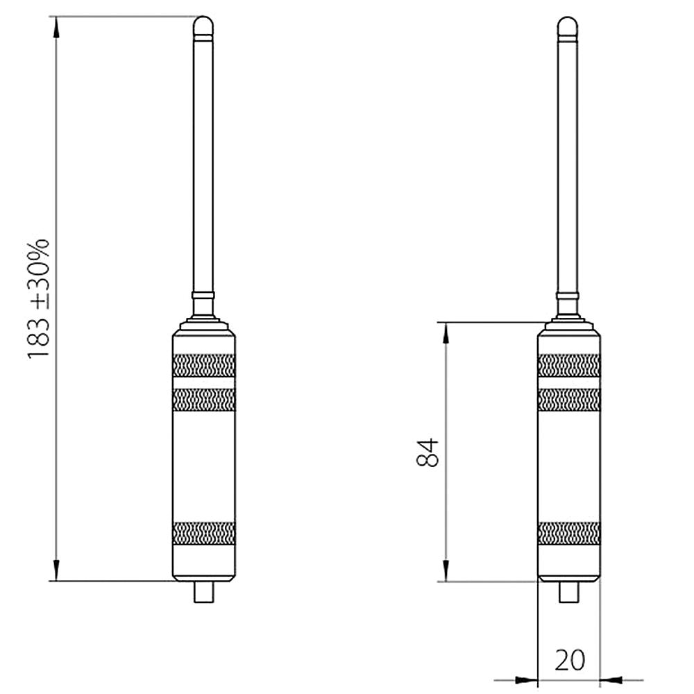 Remote electrode for ENT-organs ENT01