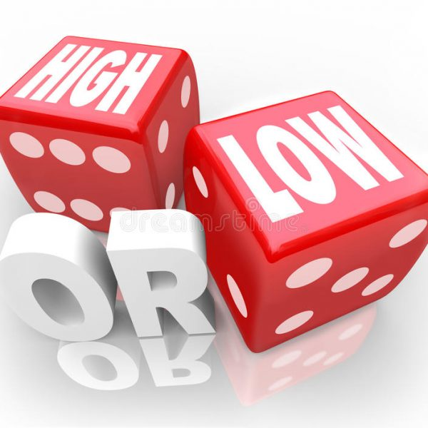 high low two dice